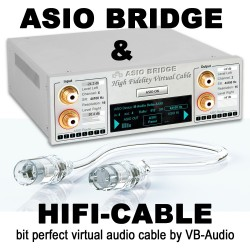 HIFI-Cable & ASIO Bridge (Non contractual artistic illustration)