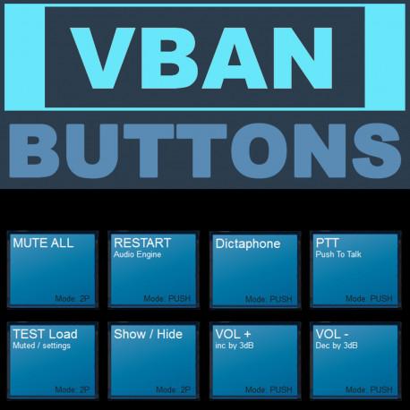 VBAN Buttons